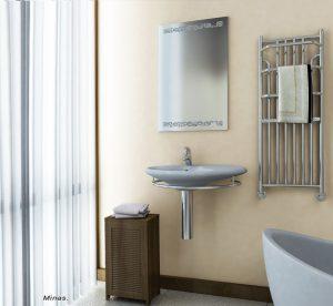 grzejniki łazienkowe chromowane